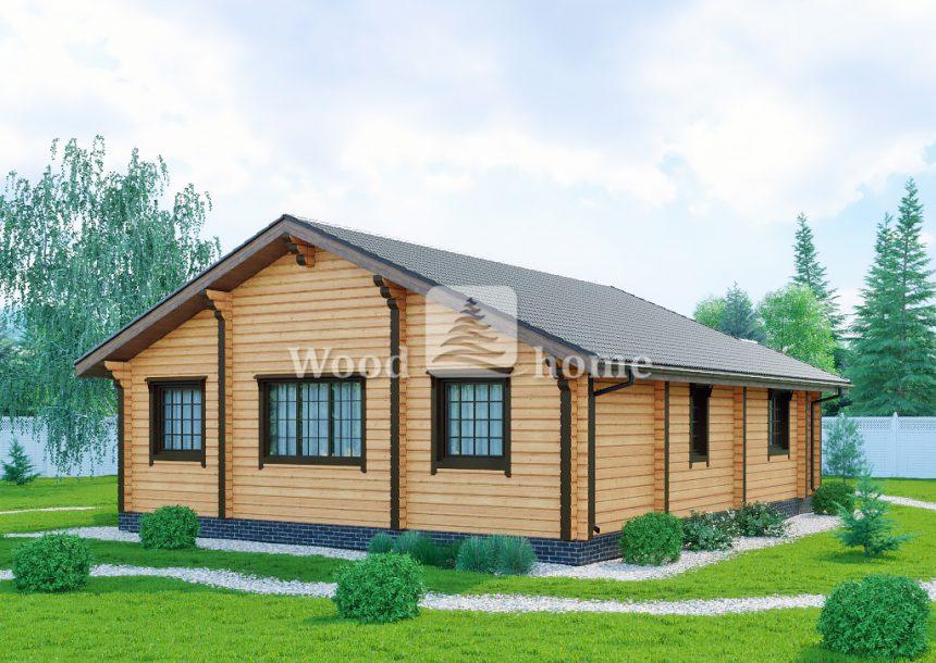 Проекты домов из бруса 100