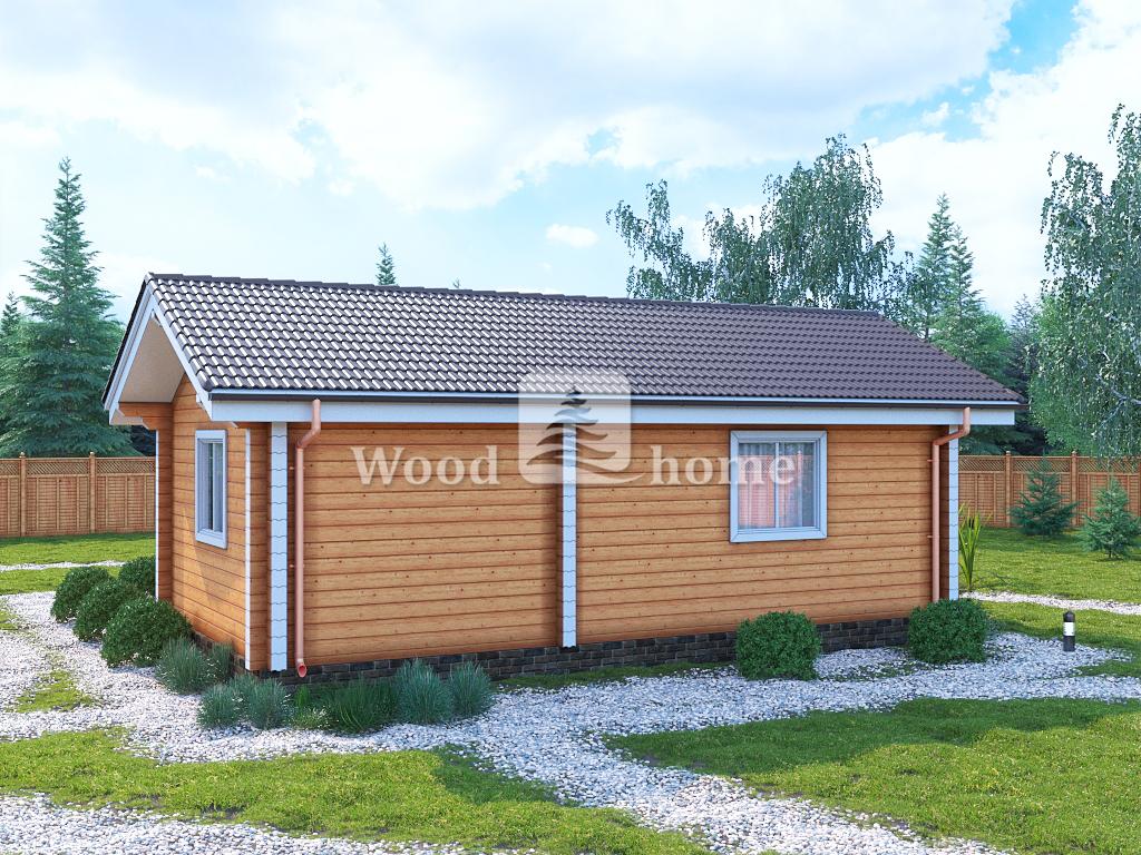 Проекты домов одноэтажных до 100