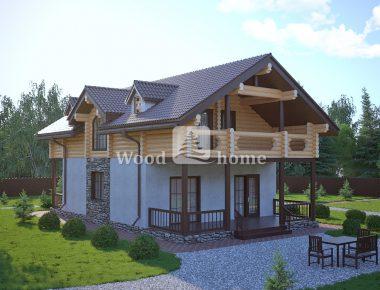 Проекты комбинированных домов цена