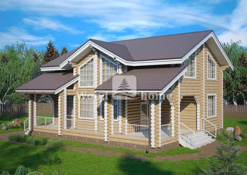 Проекты небольших домов из бревна