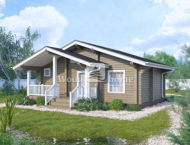 Проекты одноэтажных домов 100 м