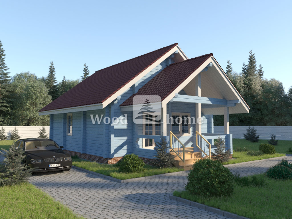Размеры двухэтажного дома