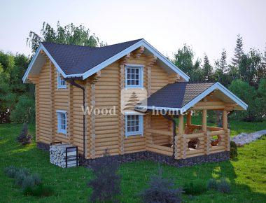 Русский дом бревно
