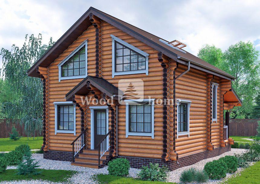 Срубы домов из бревна недорого цены