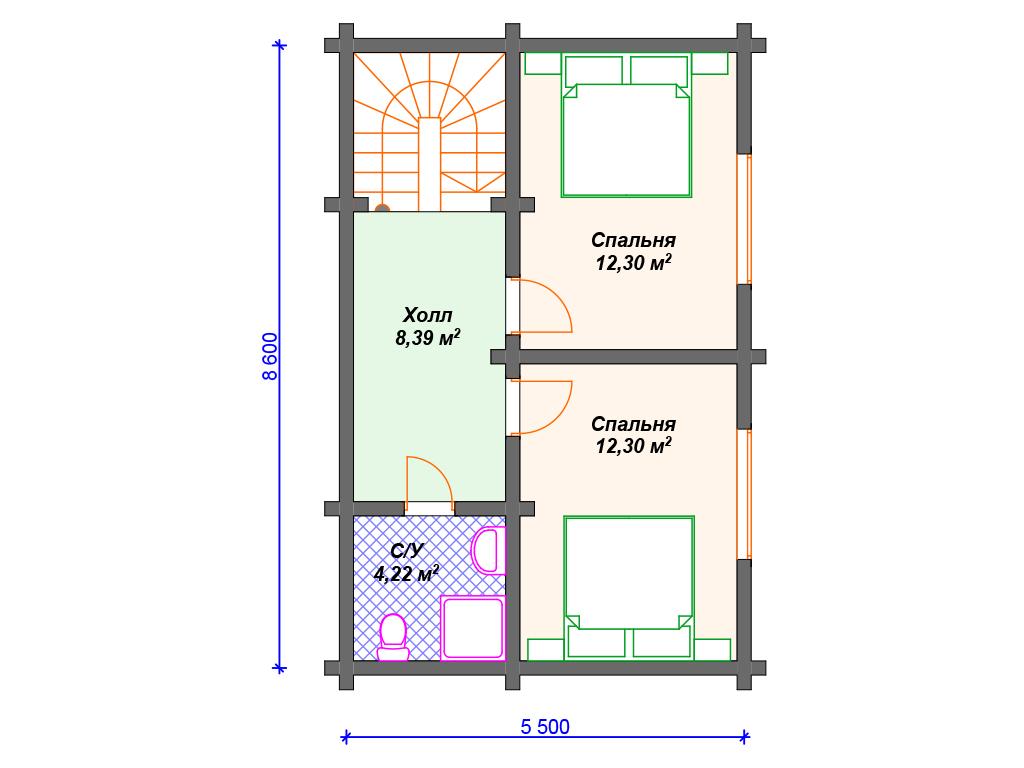 Стоимость дома из бруса