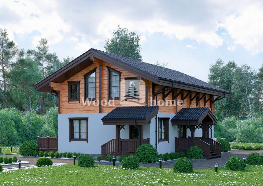 Стоимость комбинированного дома