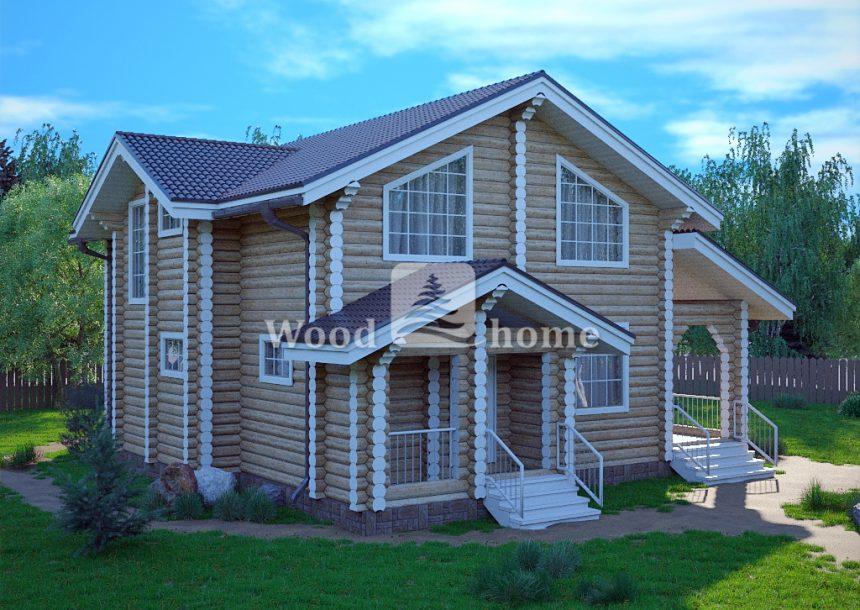 Стоимость строительства дома из бревна