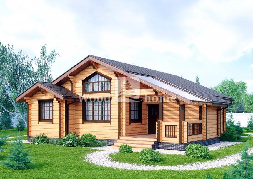 Строительный дом брус