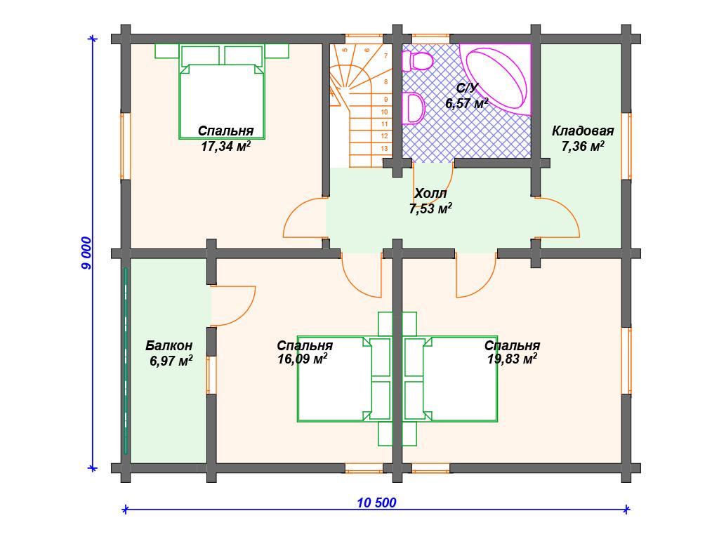 Строительство дома 200 м2
