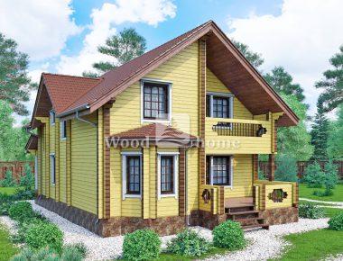 Строительство дома клееного бруса ключ