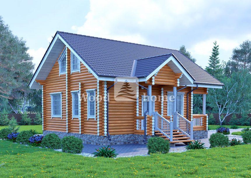 Строительство домов бревна проекты