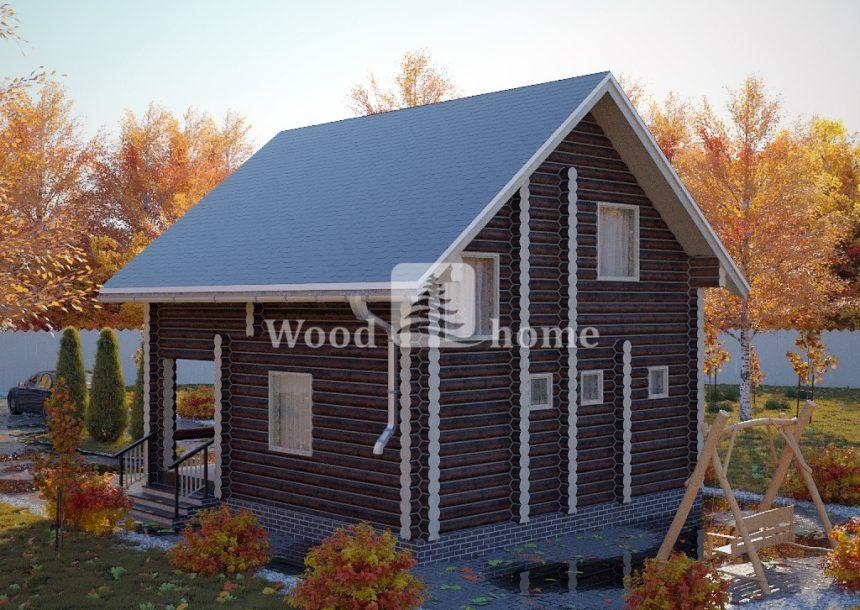 Строительство домов из бревна под