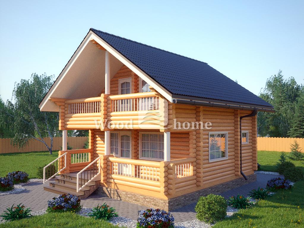 Строительство домов из бревна под ключ
