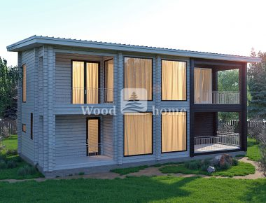 Строительство домов из клееного бруса цена