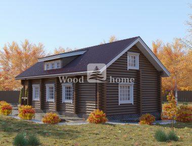 Строительство домов из оцилиндрованного бревна цена