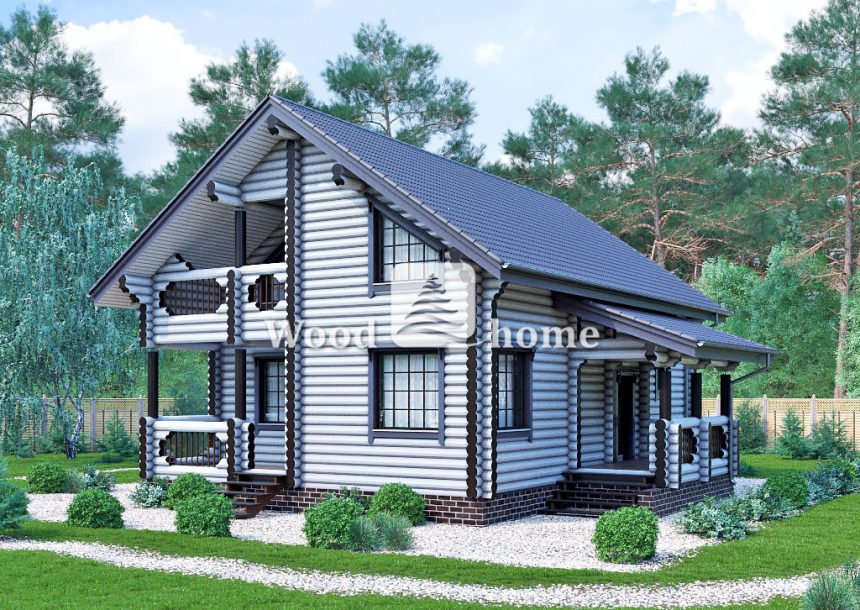 Строительство домов оцилиндрованного бревна ключ