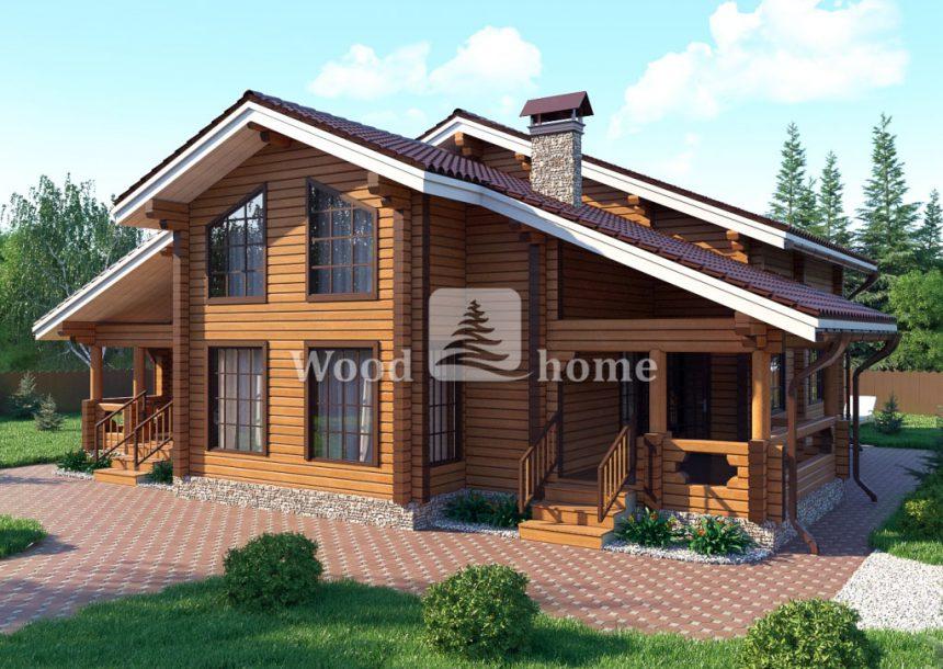 Строительство домов под ключ из клееного бруса