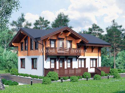 Строительство комбинированных домов под ключ