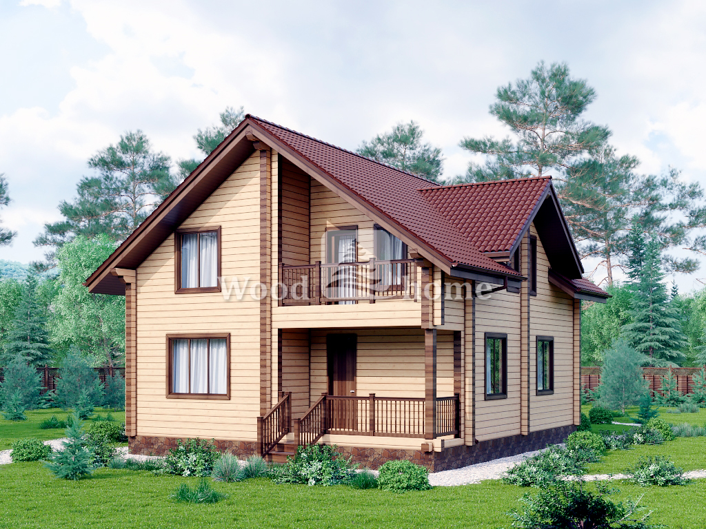 Загородный дом 200 м2