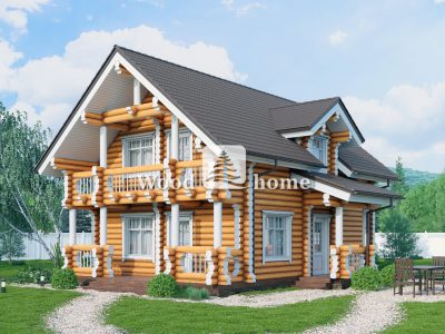 Заказать дом из оцилиндрованного бревна