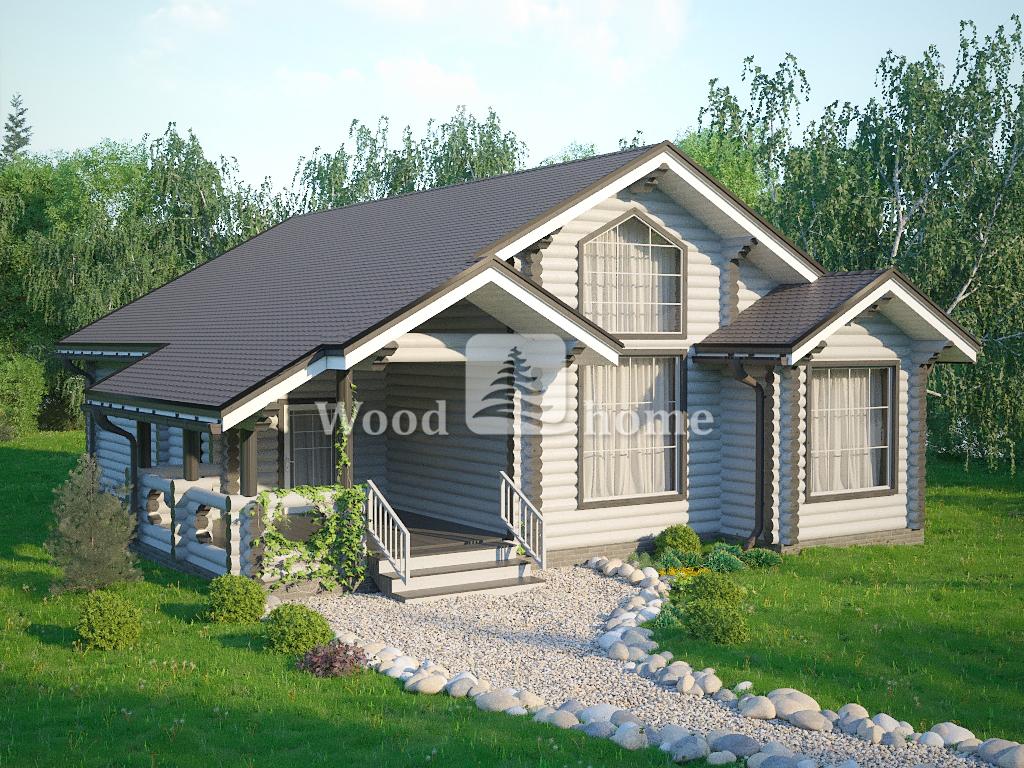 Жилой дом из бревна