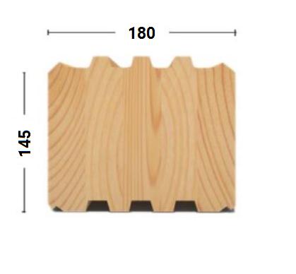 клееный брус 145х180