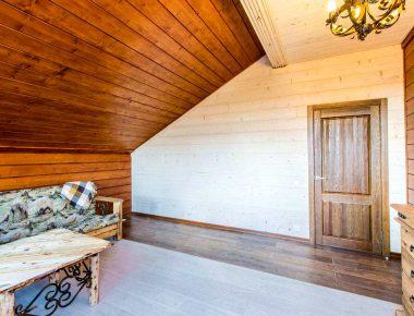 цена покраски стен деревянного дома