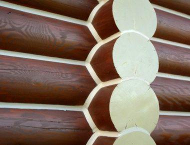 герметизация швов деревянного сруба