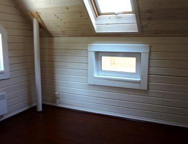 покраска деревянных домов фото