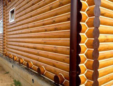 стоимость покраски деревянного дома